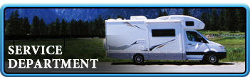 Bring your motorhome in to Harberson RV for all your service needs